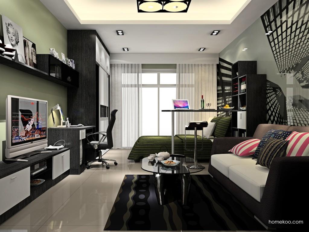 简约主义卧房家具A15674