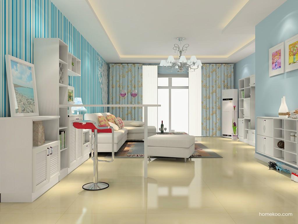 韩式田园客厅家具D15367