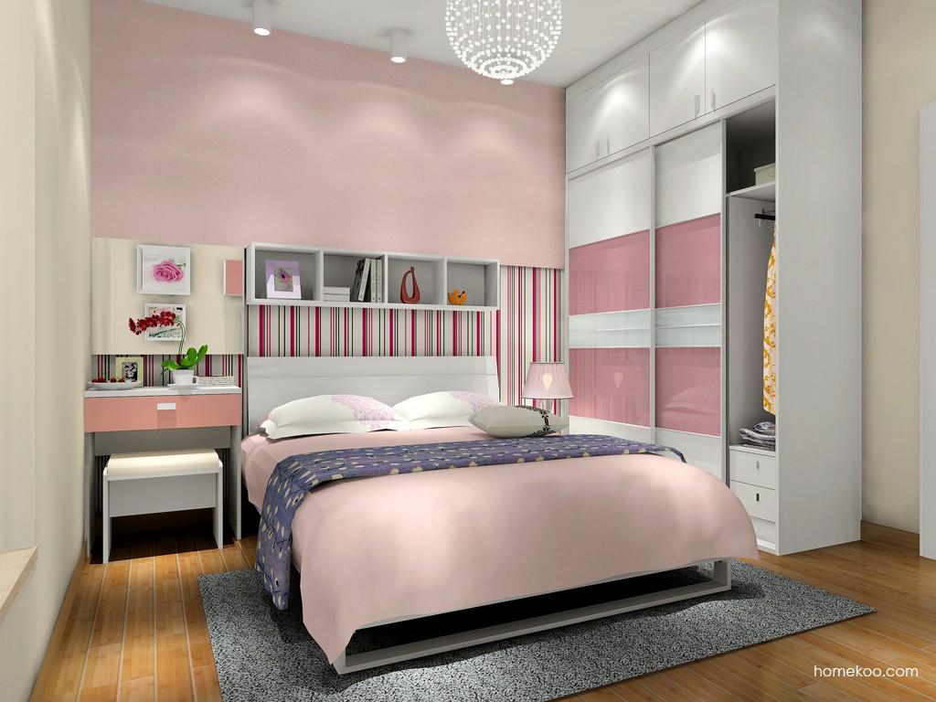 浪漫主义卧房家具A15685