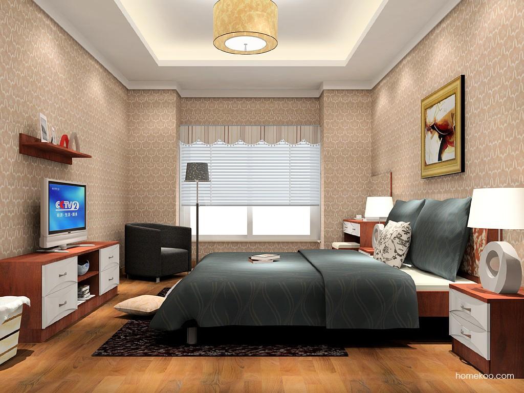挪威月色卧房家具A15688