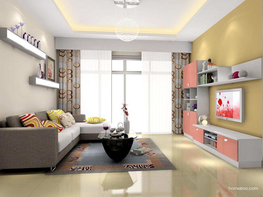 浪漫主义客厅家具D15371