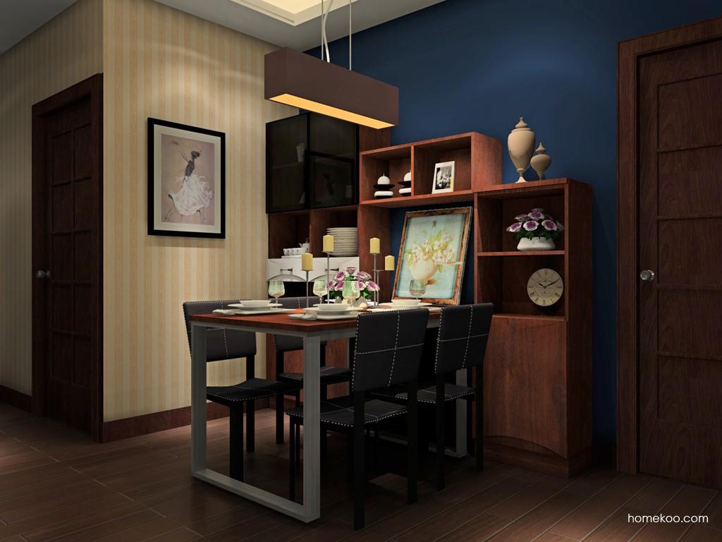 挪威月色餐厅家具E11409