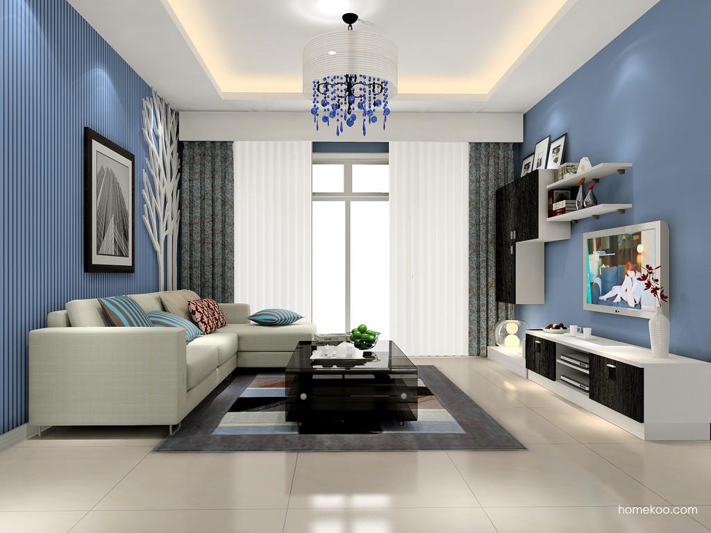 简约主义客厅家具D15382