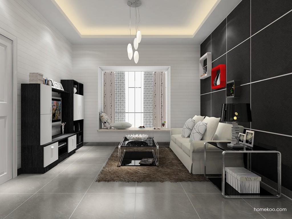 简约主义客厅家具D15387
