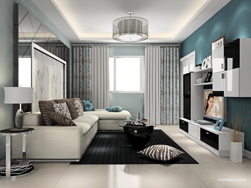 新实用主义客厅家具D15396