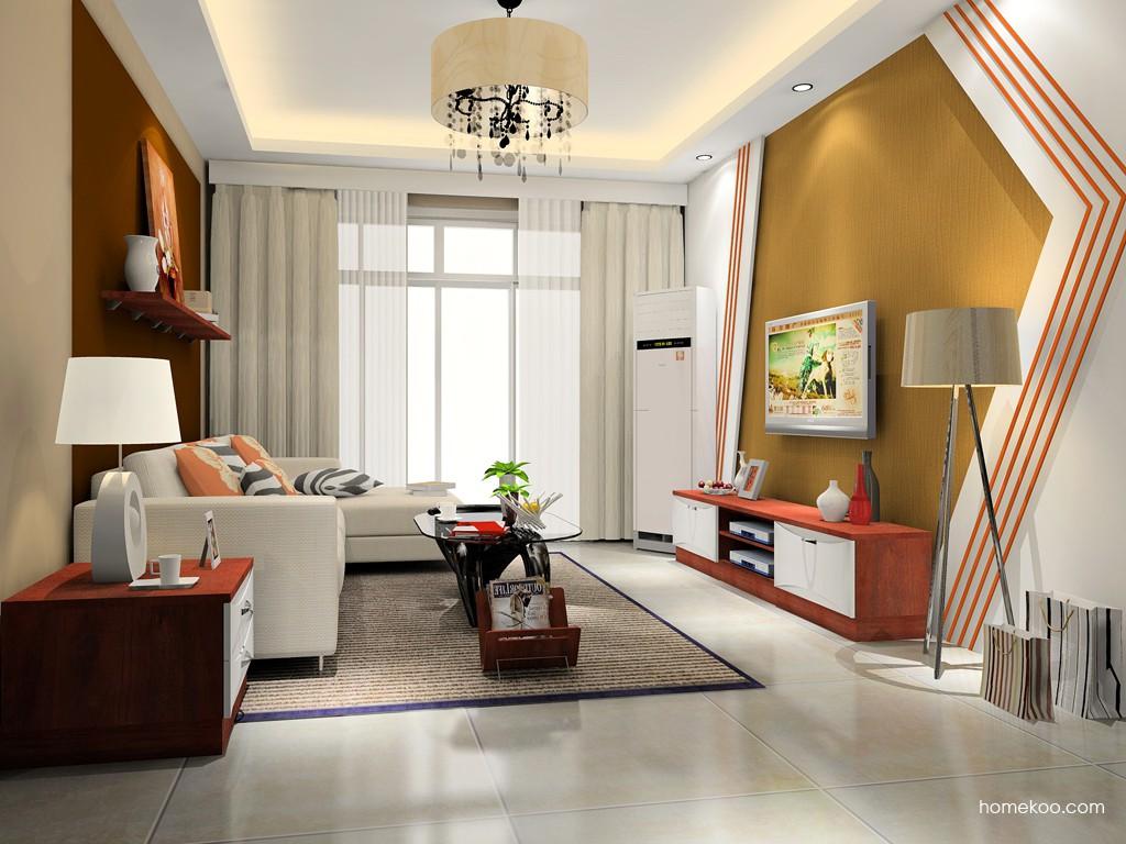 挪威月色客厅家具D15403
