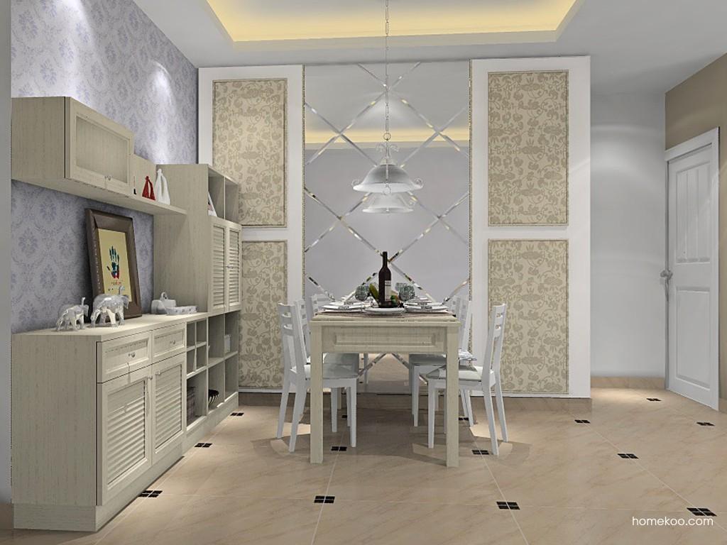 英伦印象餐厅家具E11437