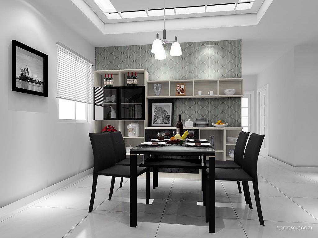 米兰剪影餐厅家具E11412
