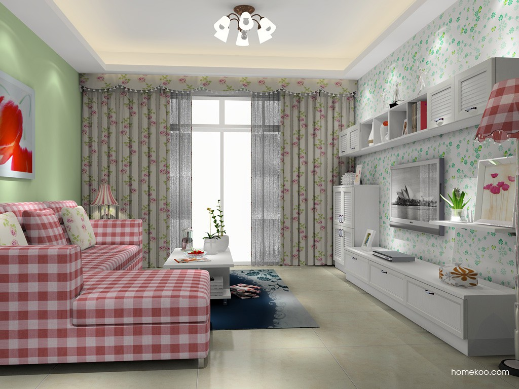韩式田园客厅家具D15411