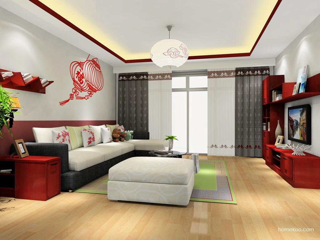 中国韵客厅家具D15418