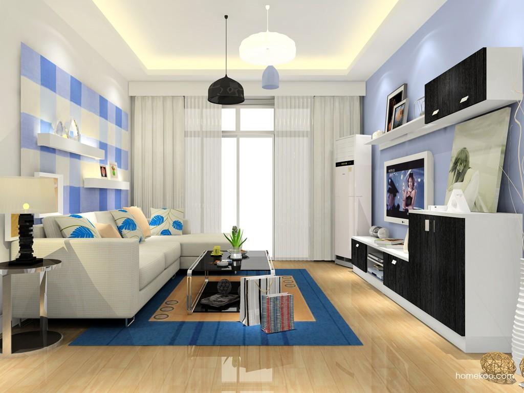 新实用主义客厅家具D15419