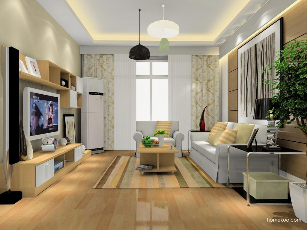 新实用主义客厅家具D15420