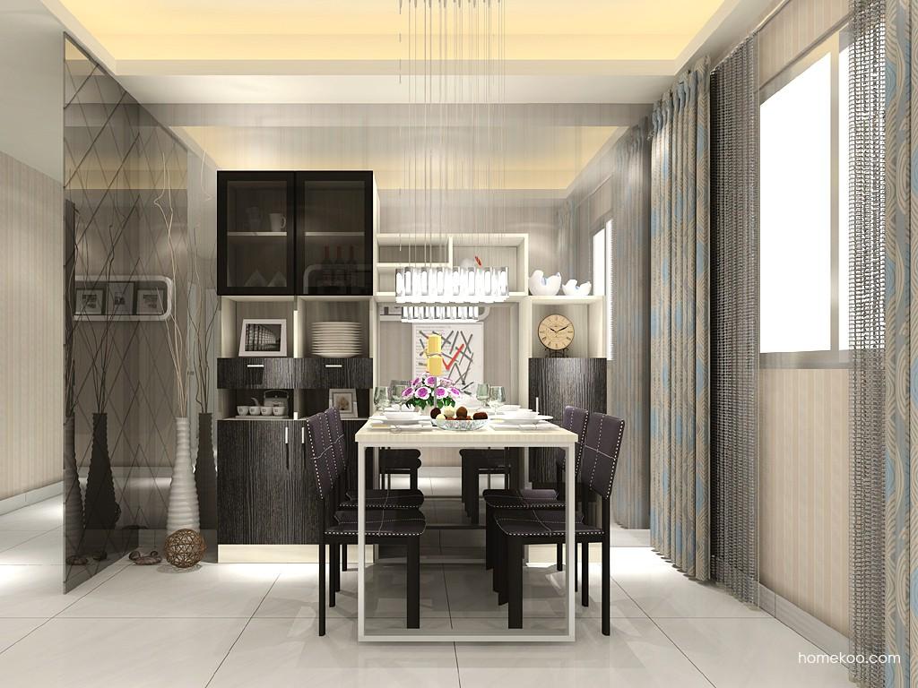 新实用主义餐厅家具E11419