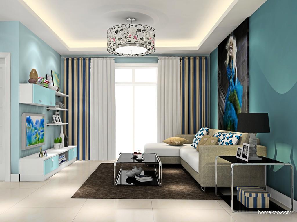 浪漫主义客厅家具D15424