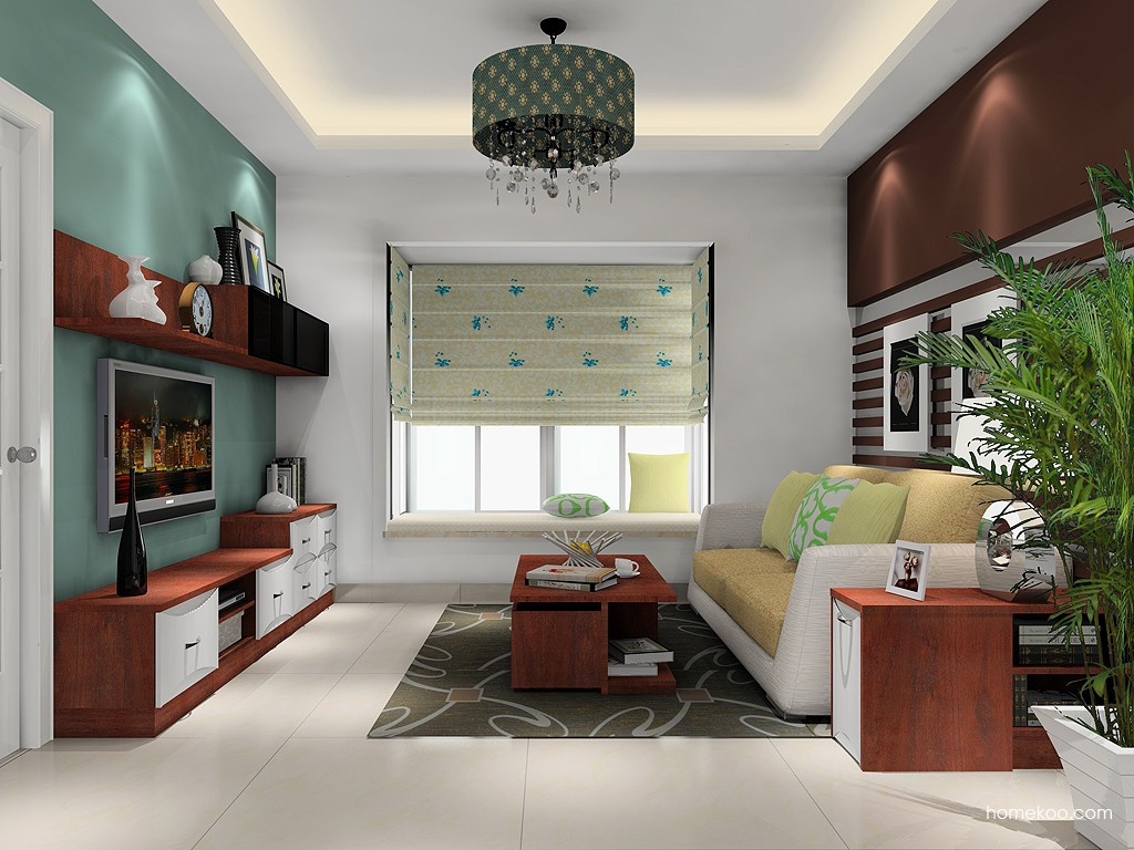 挪威月色客厅家具D15430
