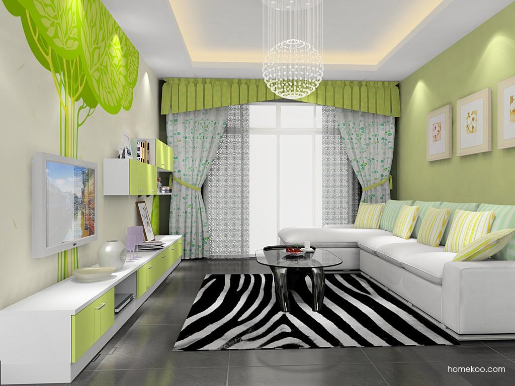 浪漫主义客厅家具D15431