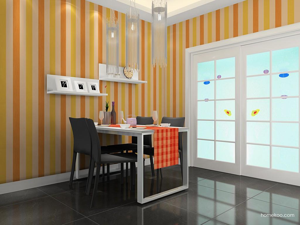 浪漫主义餐厅家具E11426