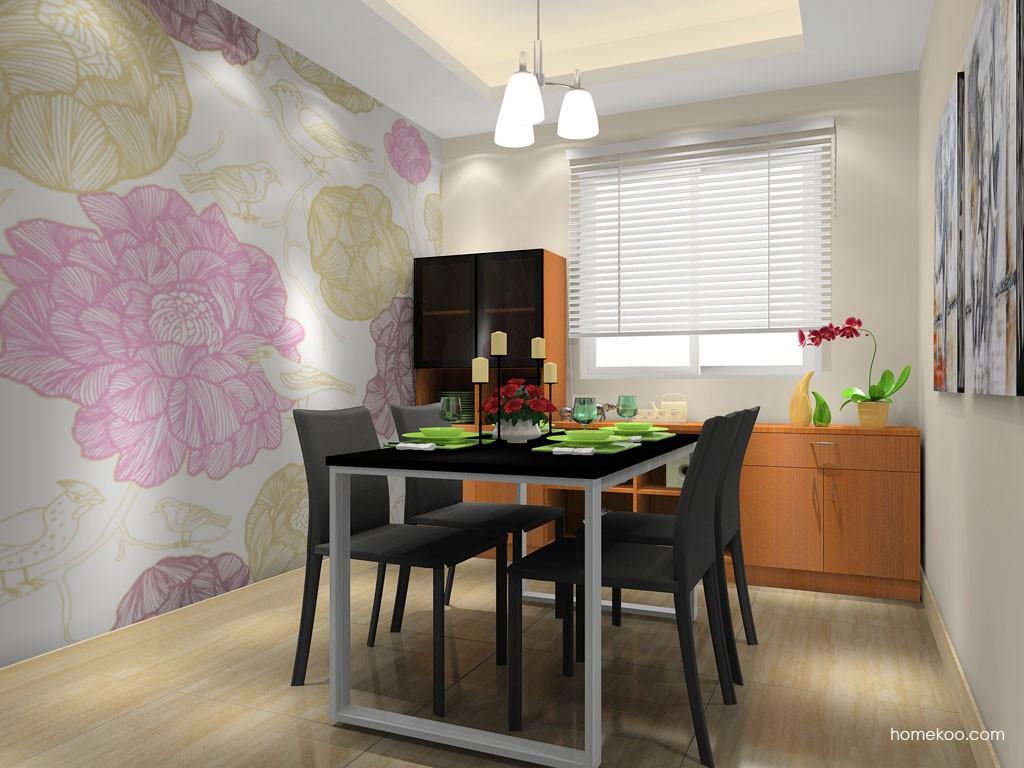 芭堤雅餐厅家具E11432