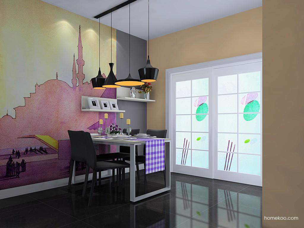 米兰剪影餐厅家具E11433