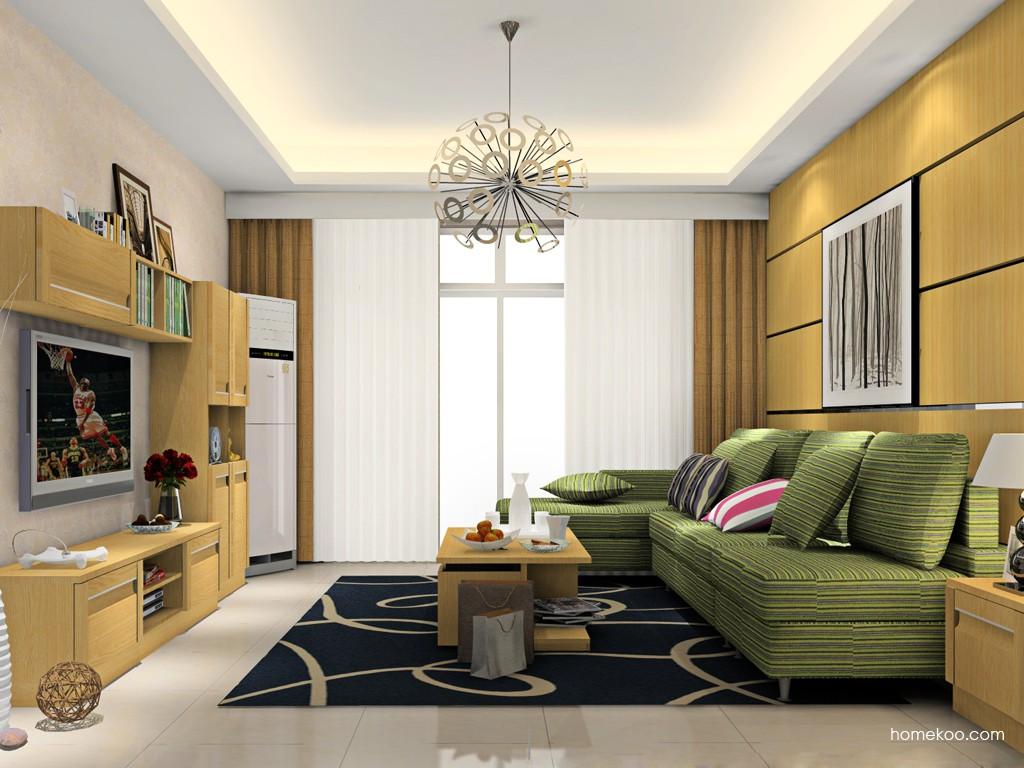 丹麦本色客厅家具D15435