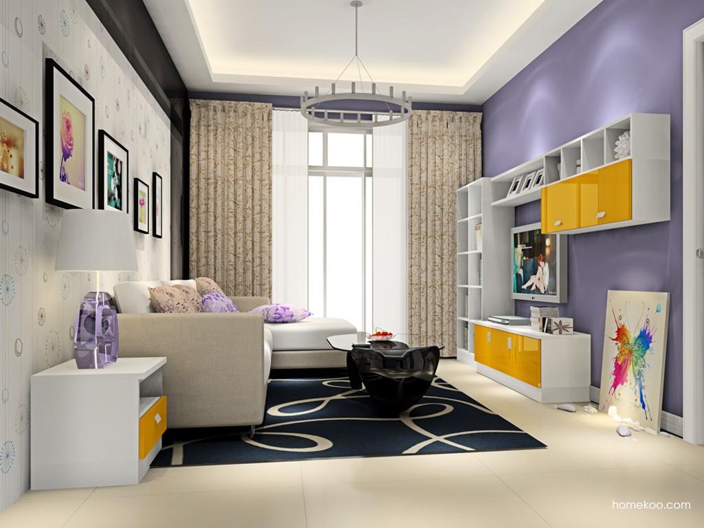 浪漫主义客厅家具D15438