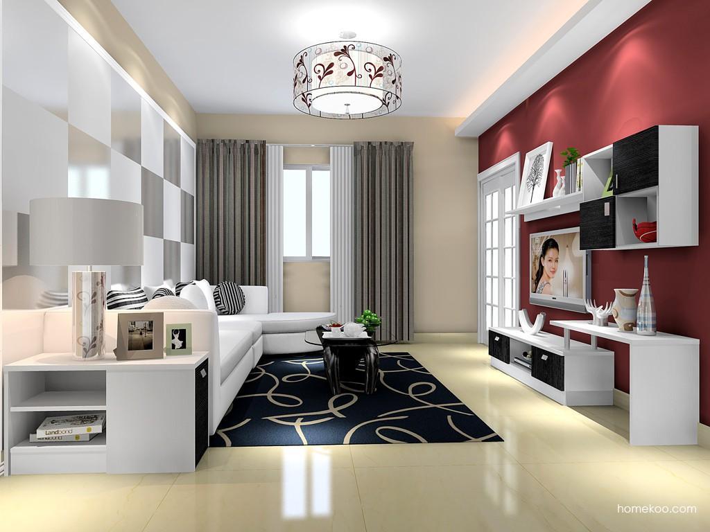 简约主义客厅家具D15439