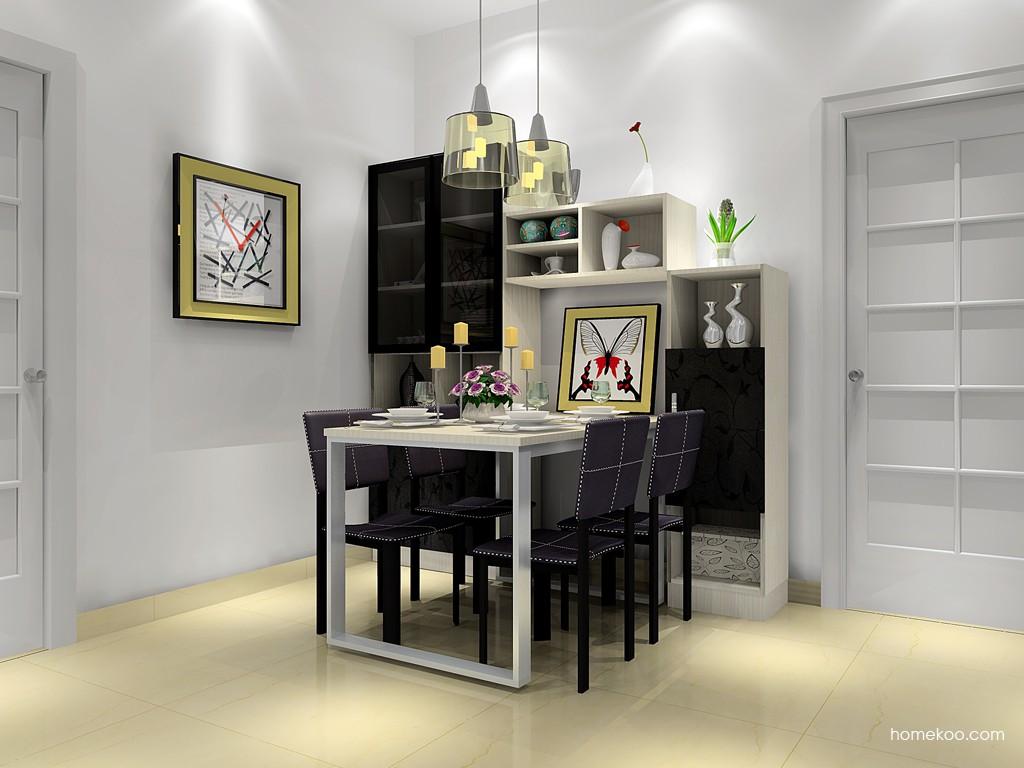 米兰剪影餐厅家具E11440