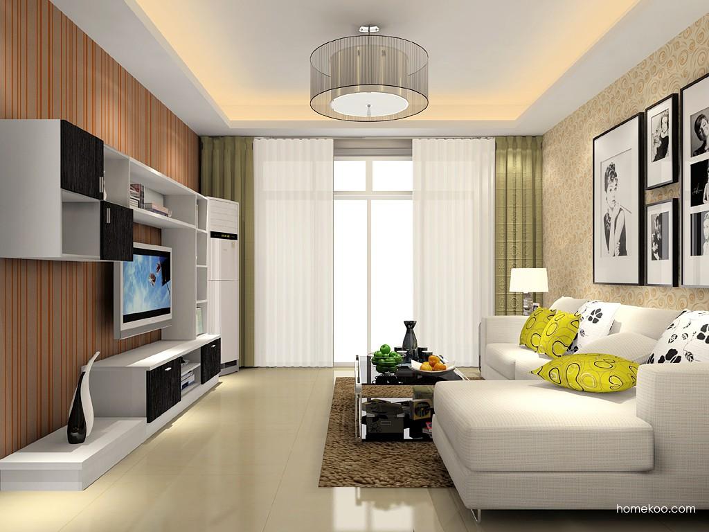 新实用主义客厅家具D15441