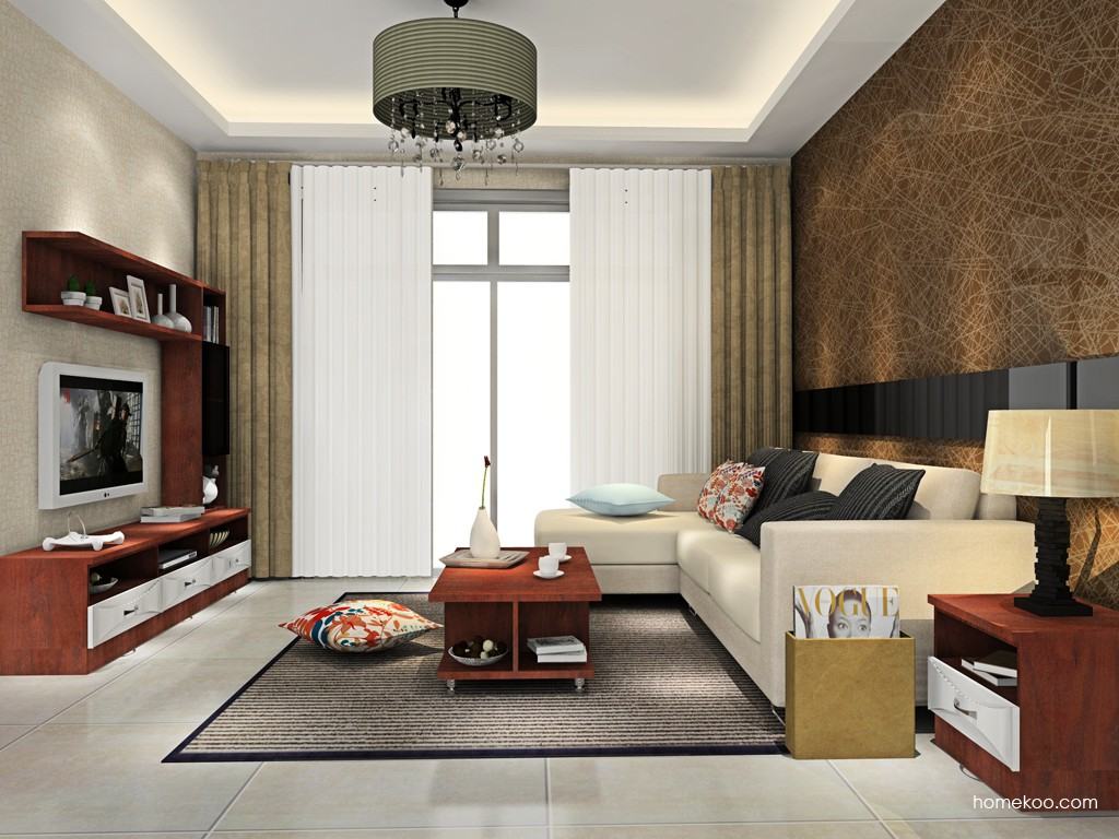 挪威月色客厅家具D15444