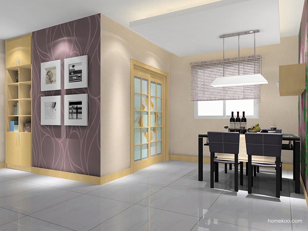 北美枫情餐厅家具E11452