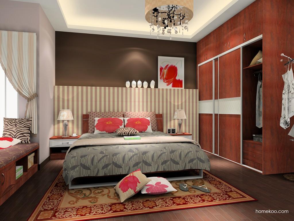 挪威月色卧房家具A15690