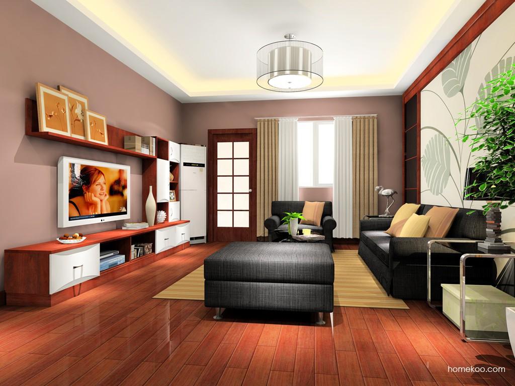 挪威月色客厅家具D15462