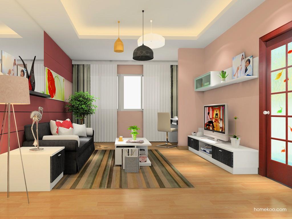 简约主义客厅家具D15465