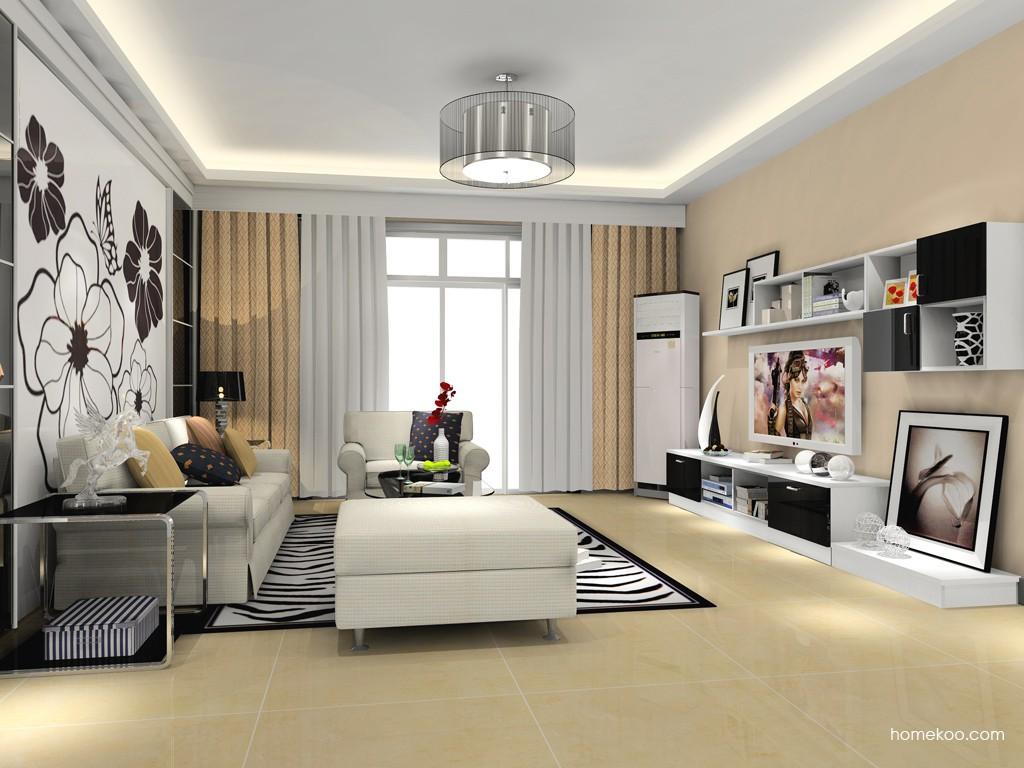 新实用主义客厅家具D15471