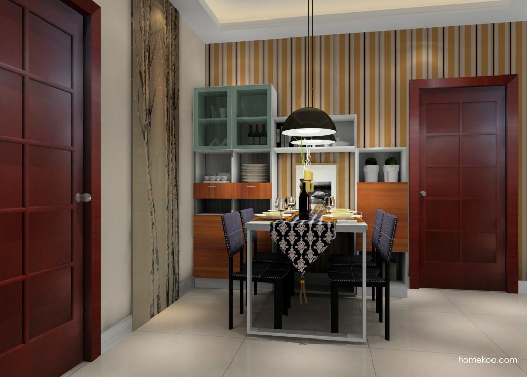 新实用主义餐厅家具E11471
