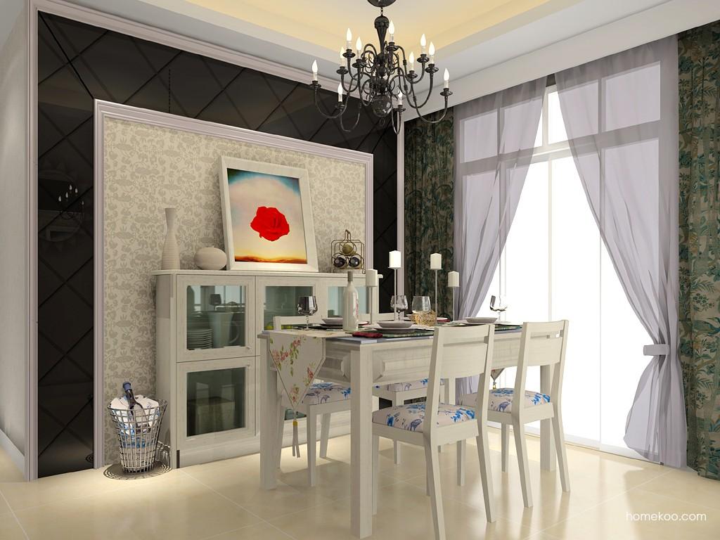 英伦印象餐厅家具E11484