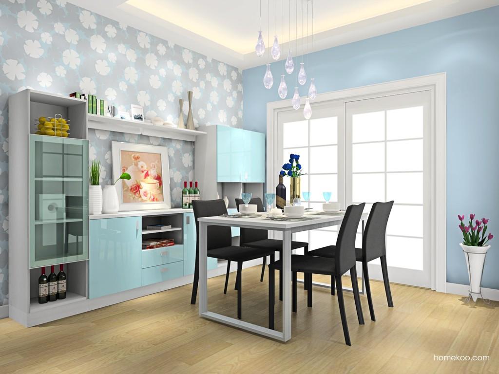 浪漫主义餐厅家具E14615