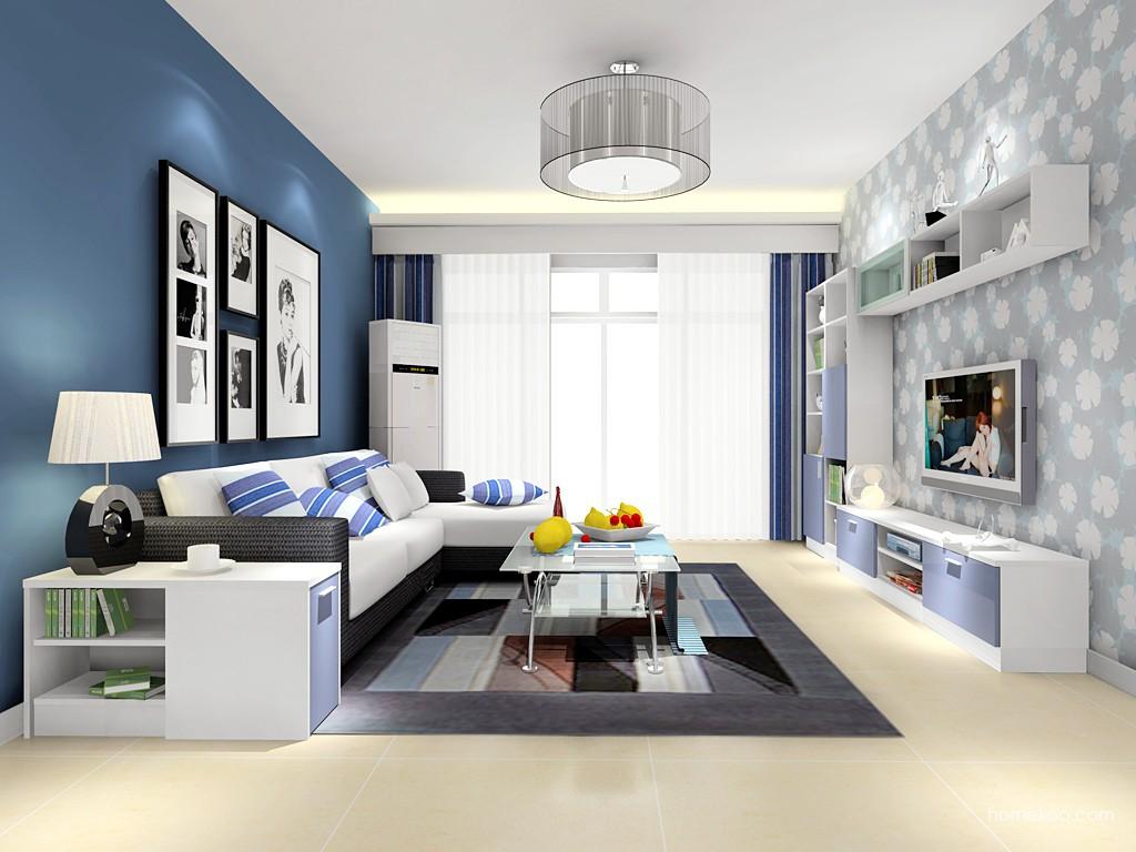 新实用主义客厅家具D15508