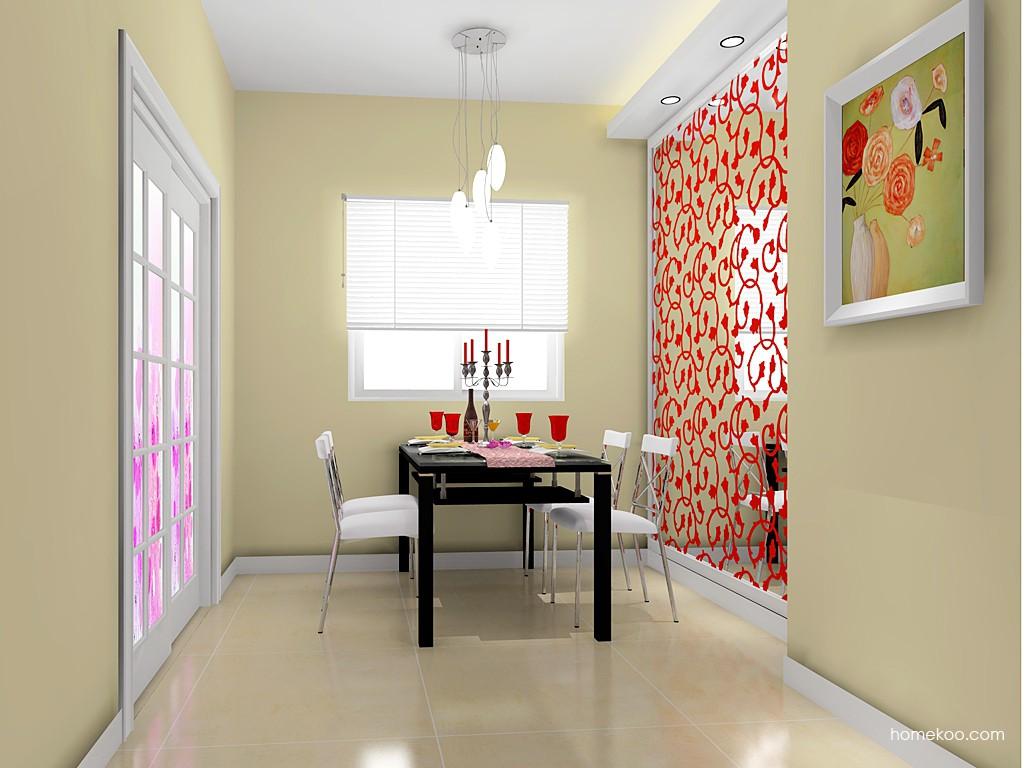 浪漫主义餐厅家具E14629