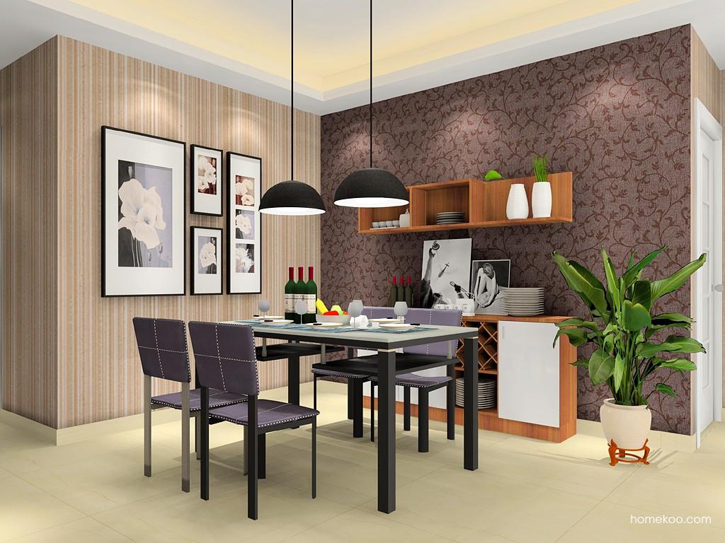新实用主义餐厅家具E14631