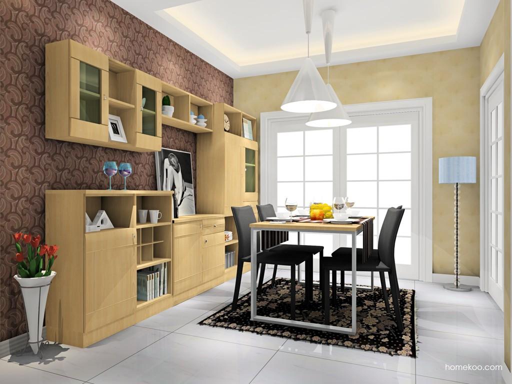 北美枫情餐厅家具E14641