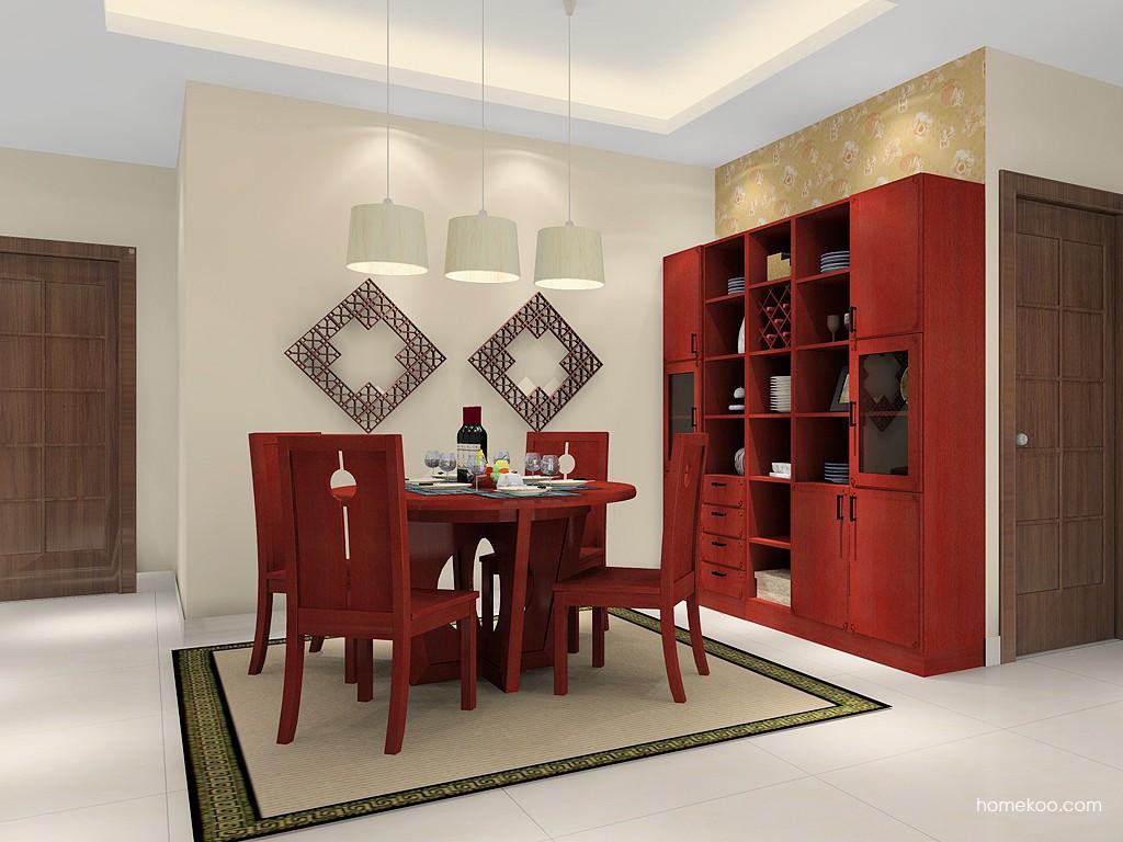 中国韵餐厅家具E14647