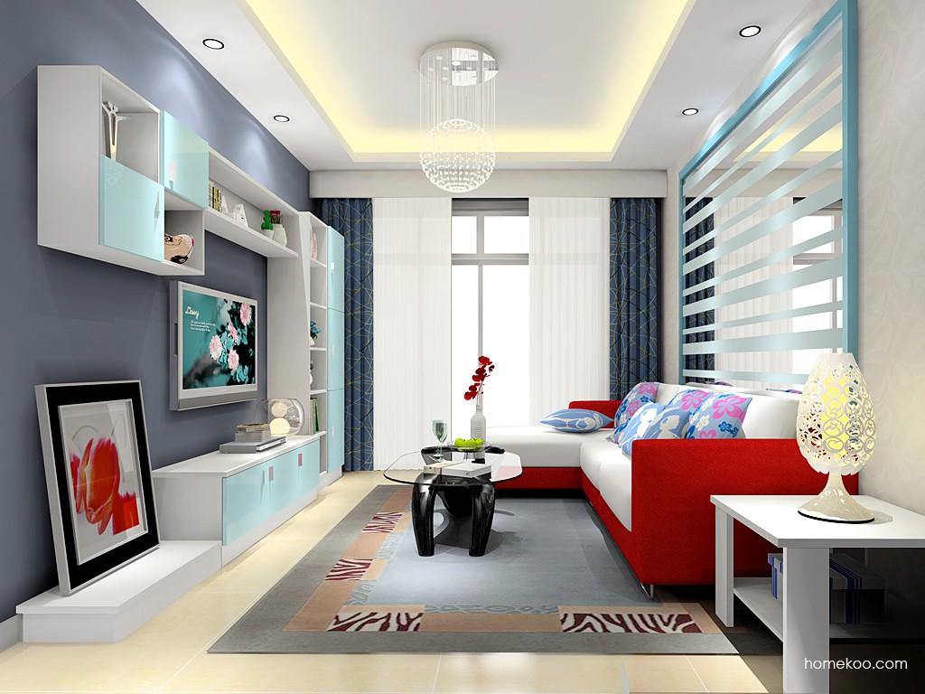 浪漫主义客厅家具D15520
