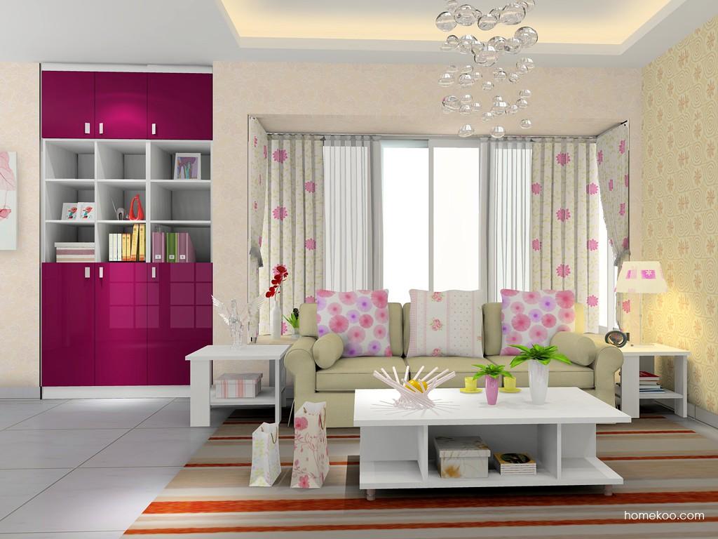 浪漫主义客厅家具D15521