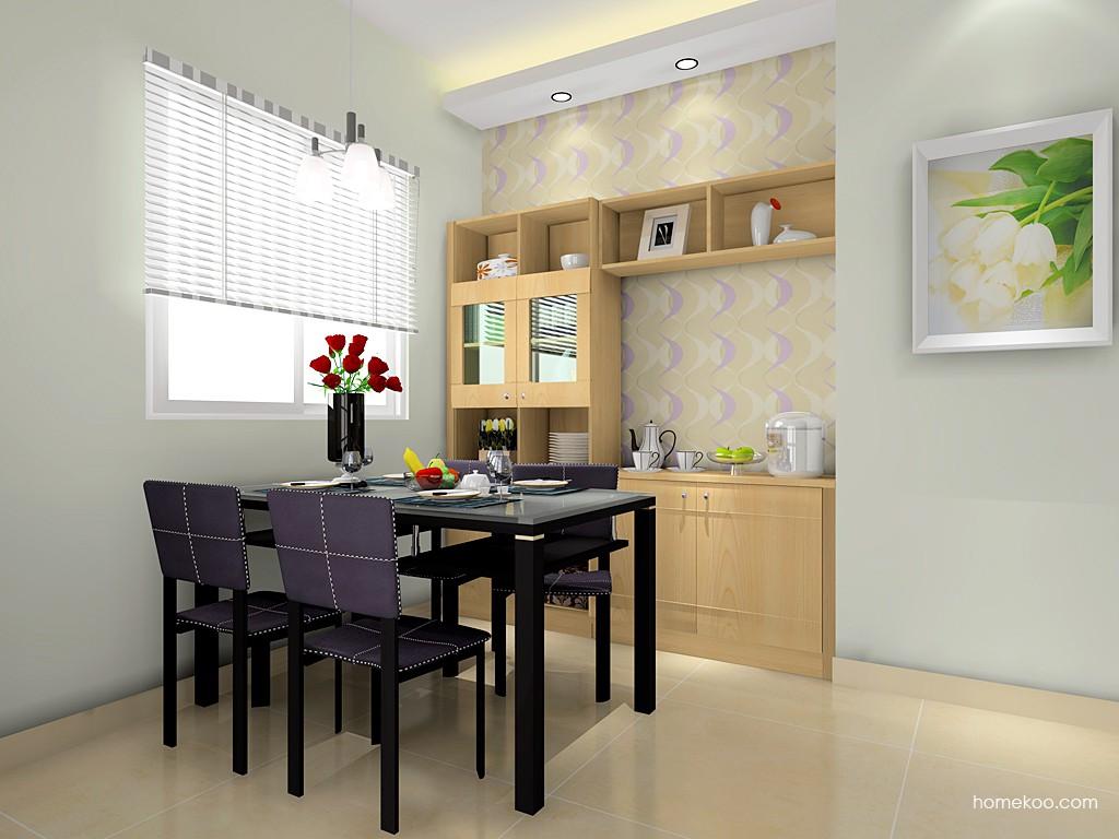 北美枫情餐厅家具E14650
