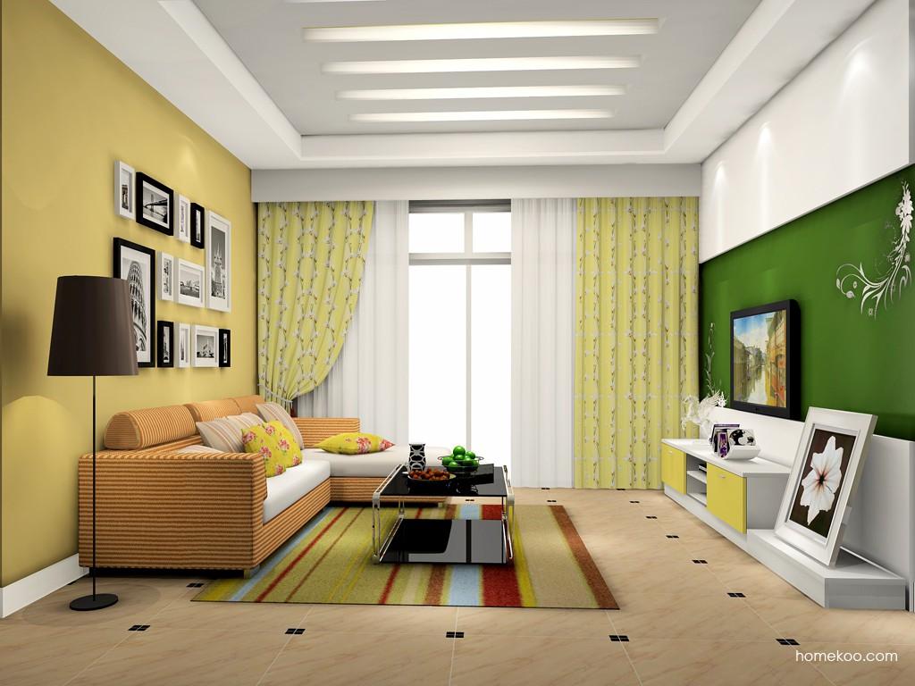 浪漫主义客厅家具D15530