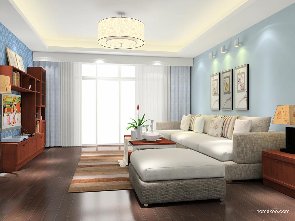 新中式主义客厅家具D15534