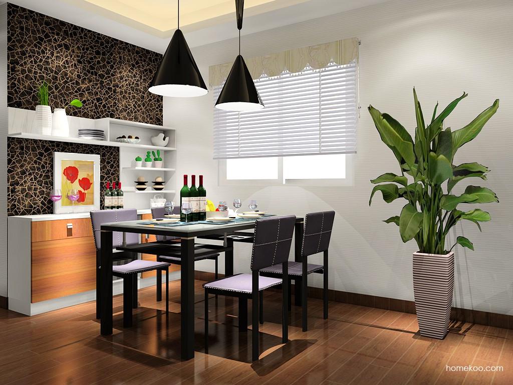 新实用主义餐厅家具E14654