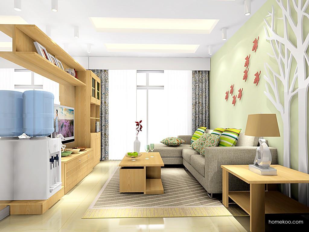 北美枫情客厅家具D15537