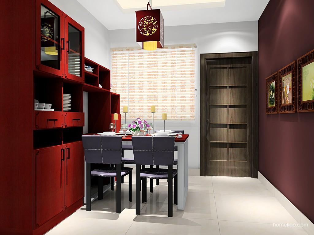 中国韵餐厅家具E14662